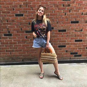 Wrangler denim cut-off shorts